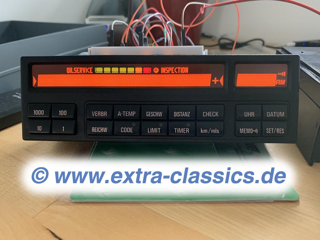 Bordcomputer Pixelfehler Reparatur 8er BMW E31 BC MID 62136914688 Instandsetzung