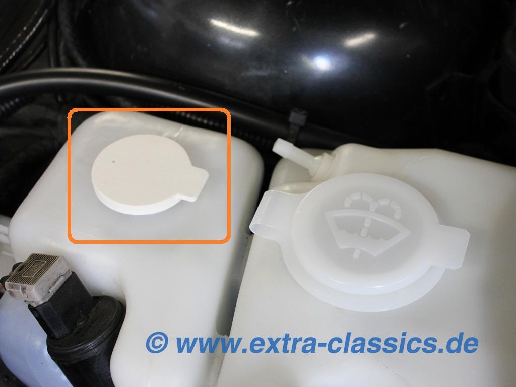Deckel für Intensivreinigung Behälter 61661369516 BMW E31