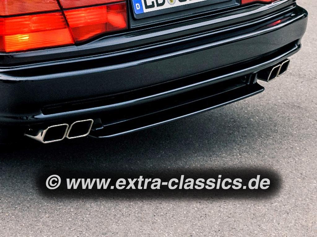 Endrohrblenden 8er BMW E31 M70 M73 Auspuff 82119401152 850i 850ci