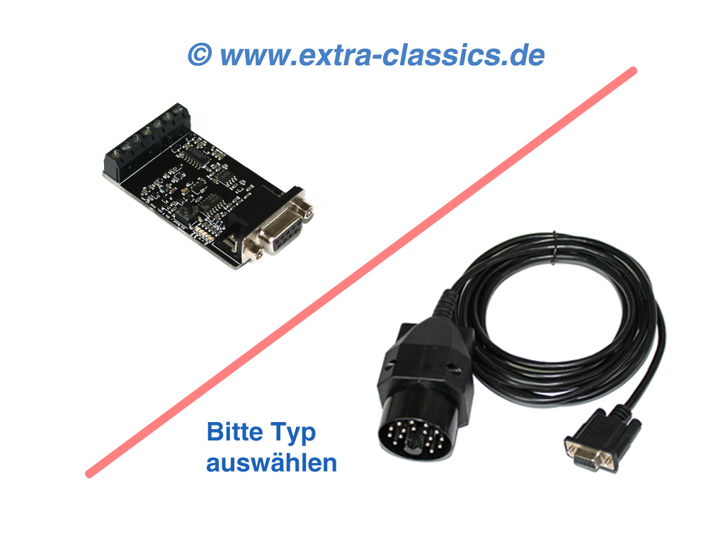 Extra-Classics ADS Interface für BMW Auto-Diagnose Tiny-ADS Basis E30 E31 E32 E34 E36 Z1 Z3 Fehler auslesen