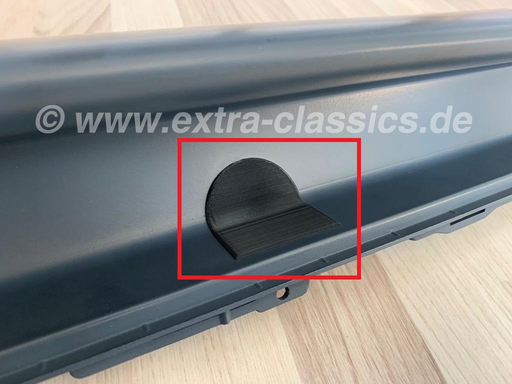 Abdeckung Abschleppöse CSI Heck-Diffusor 51122256195 BMW E31