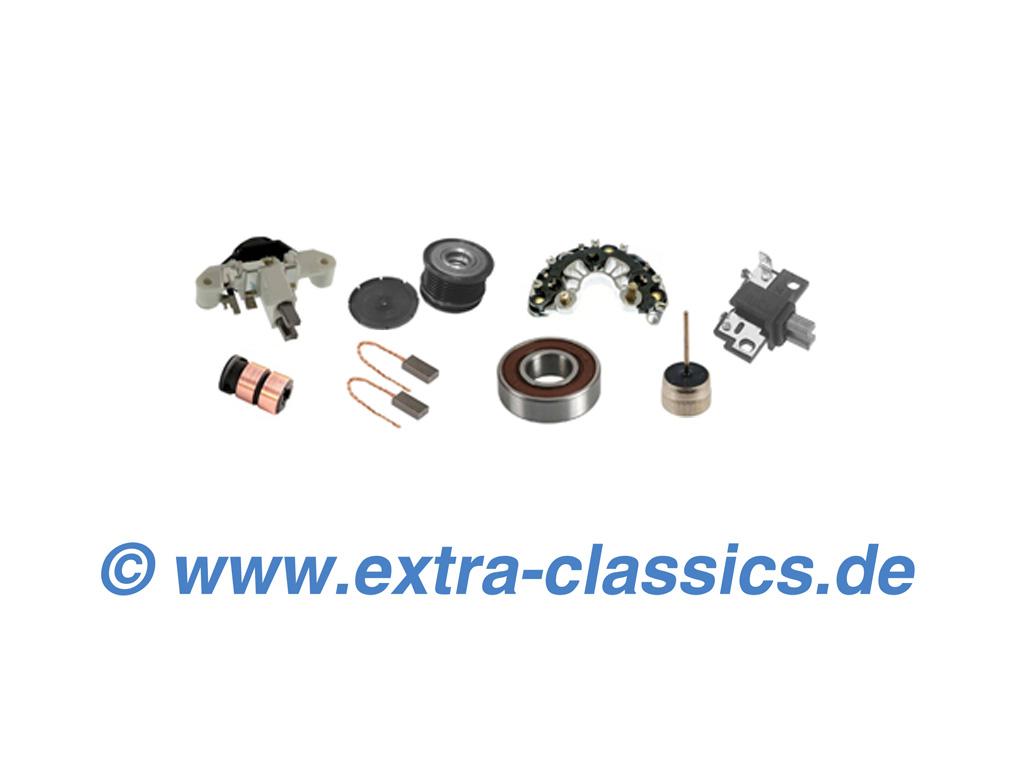 Lichtmaschine Ersatzteile für BMW Modelle - Regler, Schleifring, Kugellager, Kohlen, Dioden