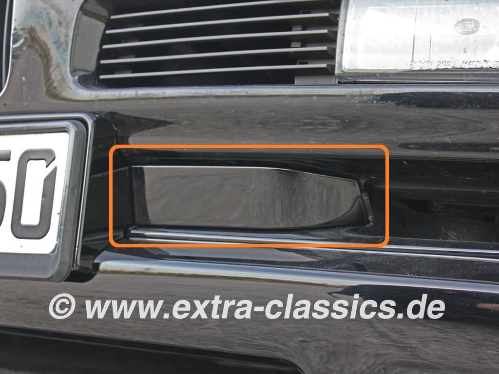 Abdeckung 8er BMW E31 CSI Front 51112253001 51112253002 Blende rechts links Flügel