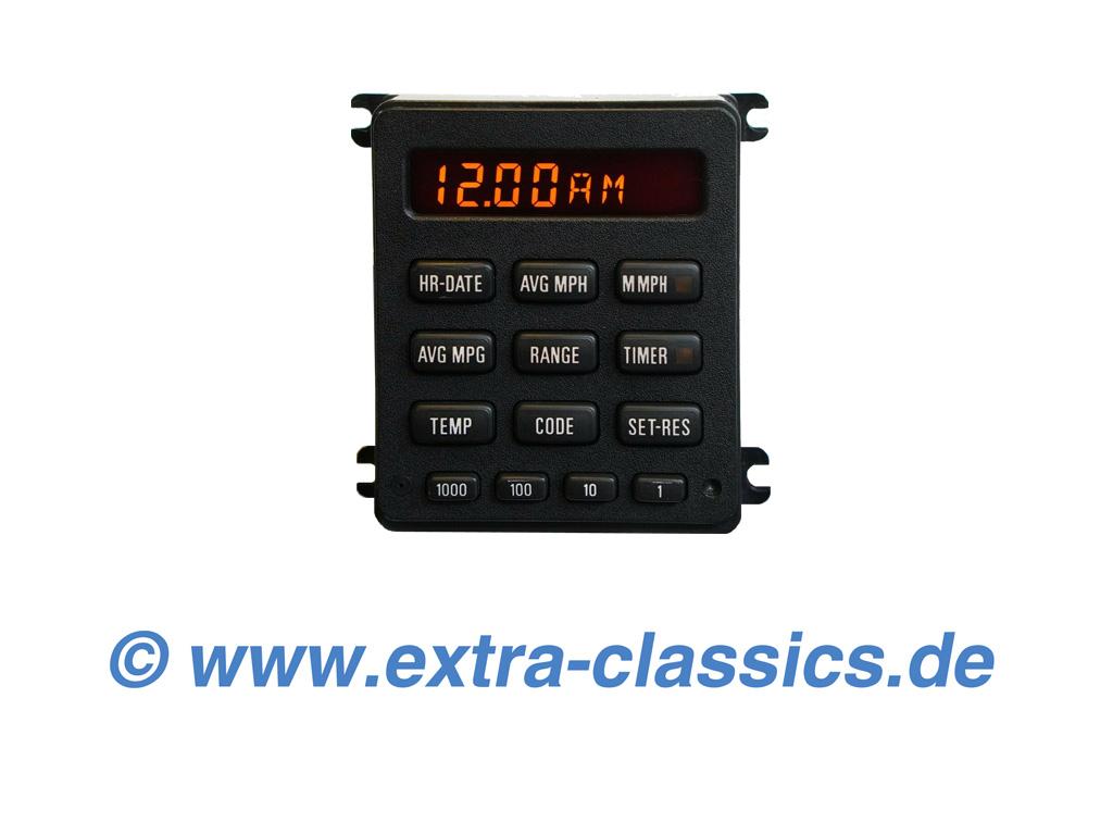 Bordcomputer Display Reparatur für OBC mit 13 Tasten BMW E23 E24 E28 E30 BC2 Anzeigeeinheit Bedienungselement