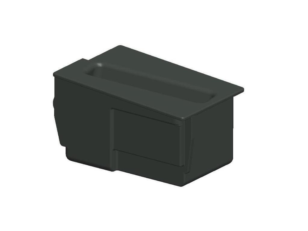 Aschenbecher Einsatz funktionaler Ersatz als Smartphonehalter für 51168117220 8er BMW E31