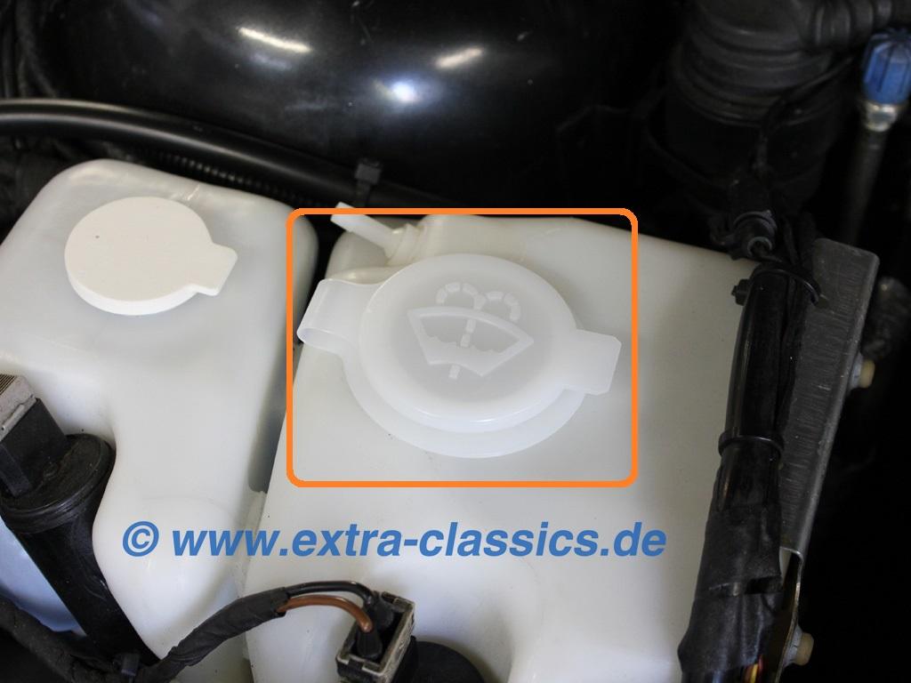 Deckel für Wischwasser Behälter 61661379054 BMW E31