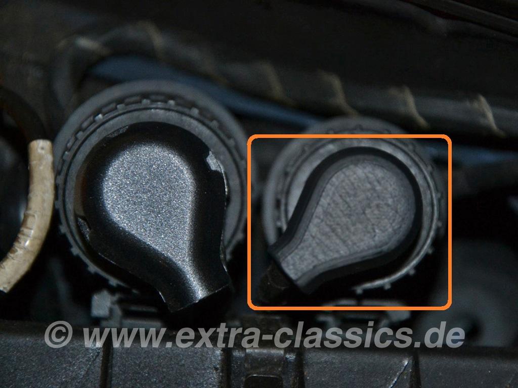 Abdeckkappe Scheinwerfer-Stecker 61131383901 BMW E31 E36
