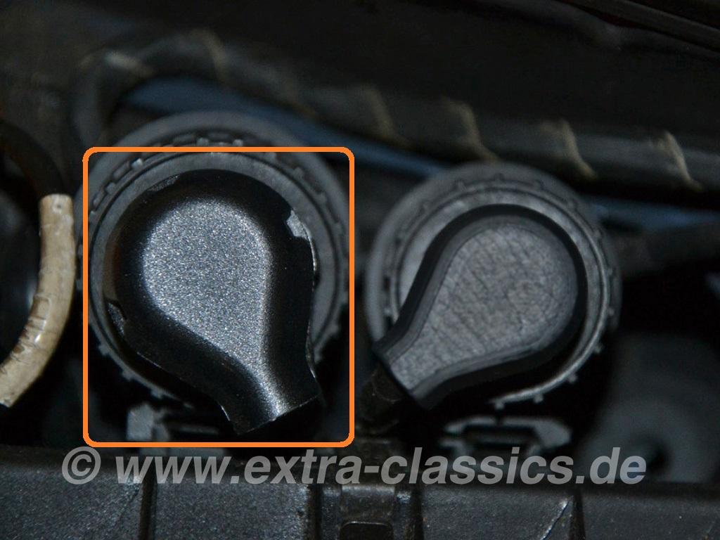 Abdeckkappe Scheinwerfer-Stecker 61131383903 BMW E31 E36