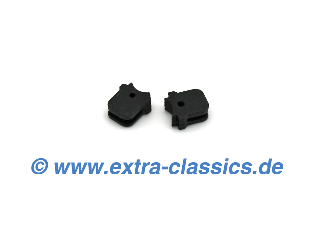 Satz Anschlagpuffer für Schloss Motorhaube 8er BMW E31 840i 850i CSI Blende 51231970591 Puffer 51231970592