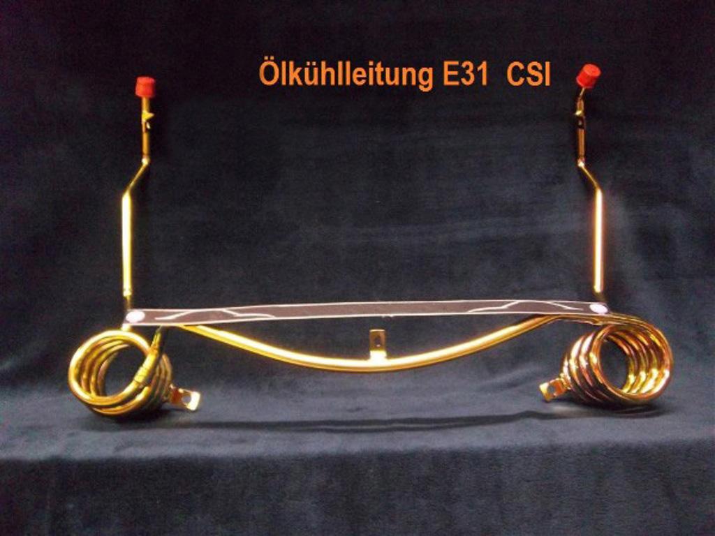Öl-Kühlleitung Differential 33152227457 BMW E31 850 Csi Hinterachse