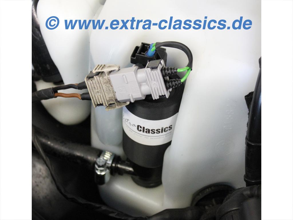 Pumpe Scheinwerfer BMW 8er E31 7er E32 3er E36 Scheinwerferreinigung 61678354625