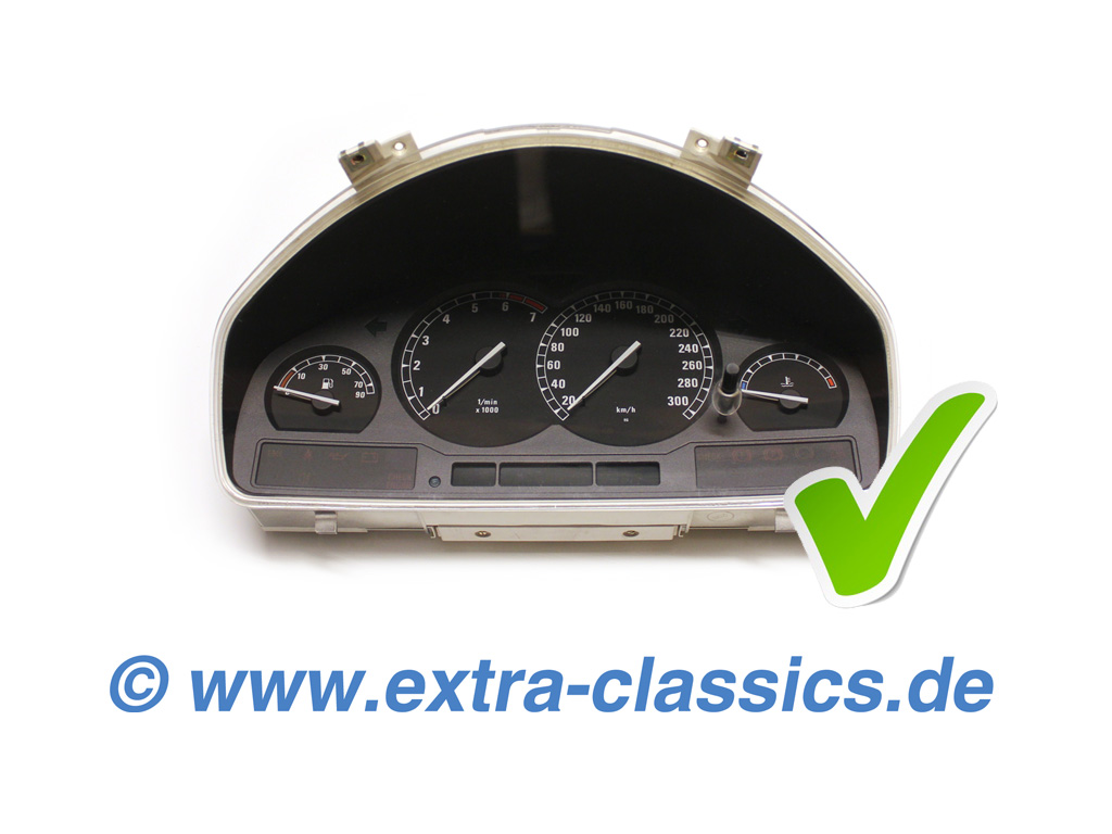 Tacho Reparatur - 8er BMW E31 Instrumentenkombination Instandsetzung 840i 850i CSI Alpina