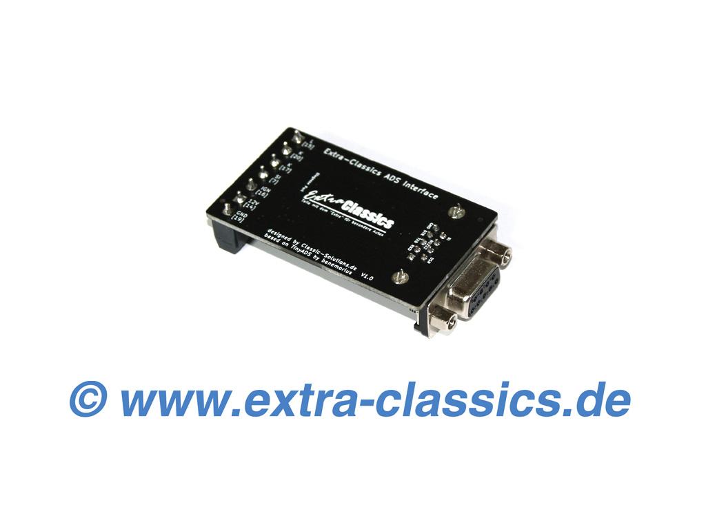 Extra-Classics ADS Interface für BMW Auto-Diagnose Tiny-ADS Basis E30 E31 E32 E34 E36 Z1 Z3 Platine